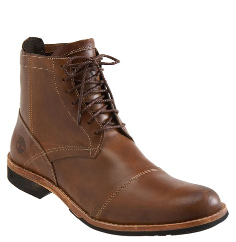 zip boots timberland earthkeepers side zip boot in brown for