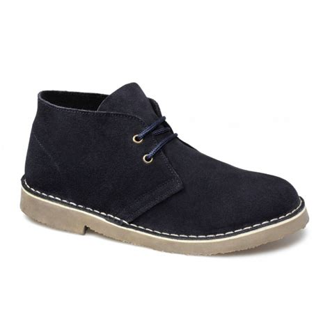 cotswold womens suede desert boots navy