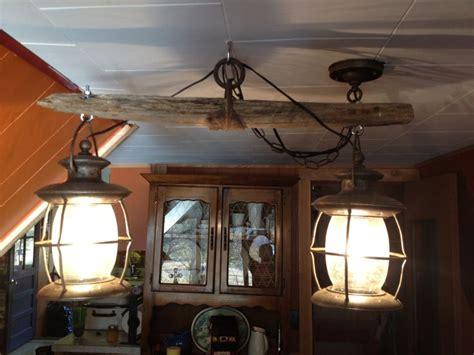 western decor single tree light fixture that my