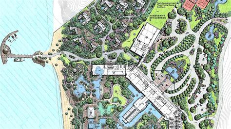 layout plan resort resort beach master plan resort landscape pinterest