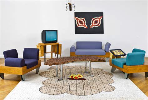wohnzimmer 80er schrill bizarr brachial das neue deutsche design der 80er