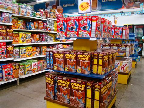 Supermarket Box tamarindo costa rica daily photo grocery store cereal aisle