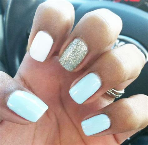 Blue Nails Trend 2008 by 17 Best Ideas About Light Blue Nails On Pastel