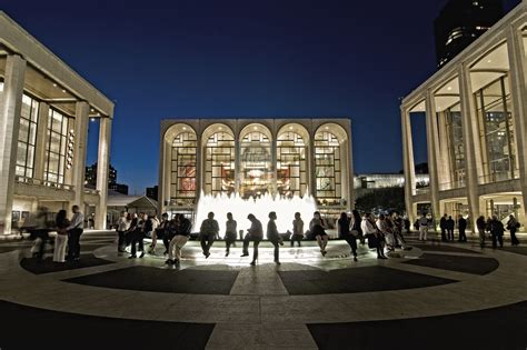 lincoln center new york new york a great international city new york
