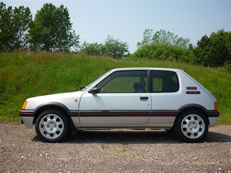 brand new peugeot this 1989 peugeot 205 gti is more expensive than a brand