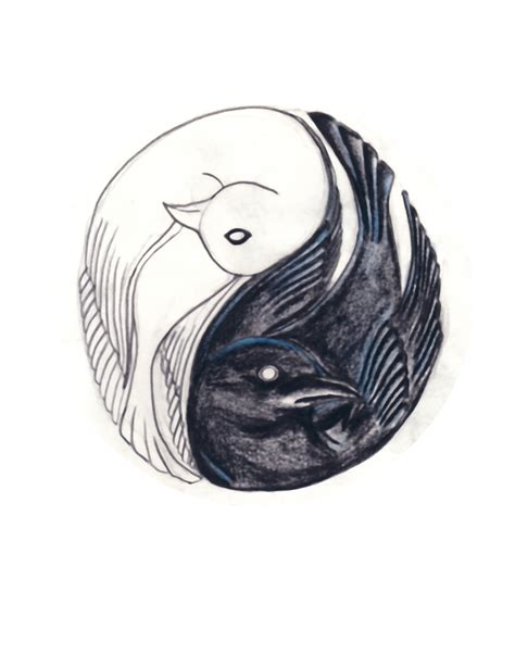 tattoo yin yang animal yin yang bird tattoo by helpmepleaseplease on deviantart