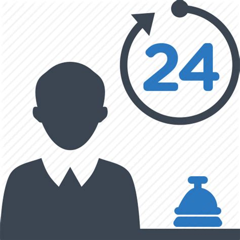 24 Hour Help Desk by Bellboy Concierge Hotel Bell Reception Icon Icon Search Engine