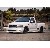 2003 Ford Lightning Truck White Cars Wallpaper