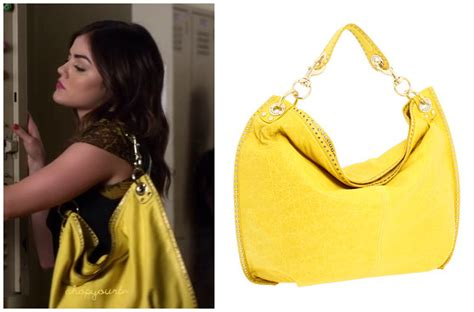 Ezra Studded Bag Green by Pll 3x10 Archives Shopyourtvshopyourtv