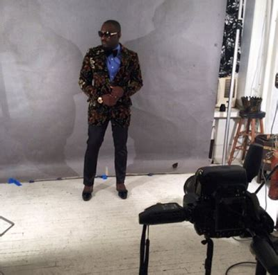 Another Photo Shoot In Ny by Welcome To Nijacus Jim Iyke With Vogue Italia