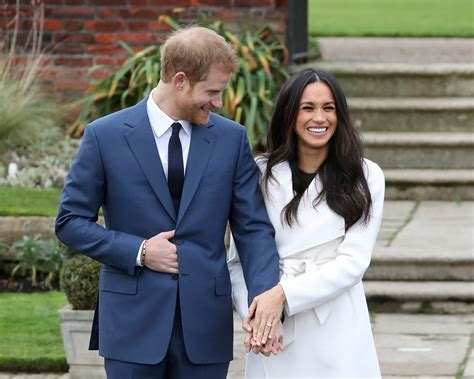 meghan markle and prince harry s first tv interview in meghan markle and prince harry beam after engagement
