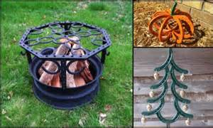 X Raised Garden Bed - 10 things you can make with horseshoes diy projects for