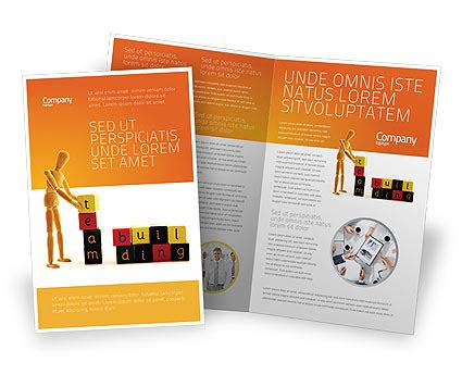 team brochure template team building brochure template design and layout download now 02993 poweredtemplate com