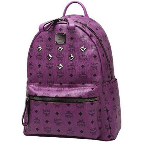 Backpack Mcm Purple Taemin Shinee mochila mcm shinee exo k pop