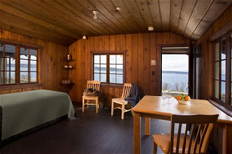 The Cabins at Cama Beach State Park on Camano Island   Northwest Tripfinder