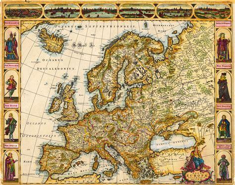 imagenes vintage mapas mapa de europa antigua