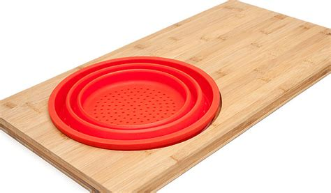America S Test Kitchen Rolling Pin by Cutting Board Colander Your New Favorite Multitasker