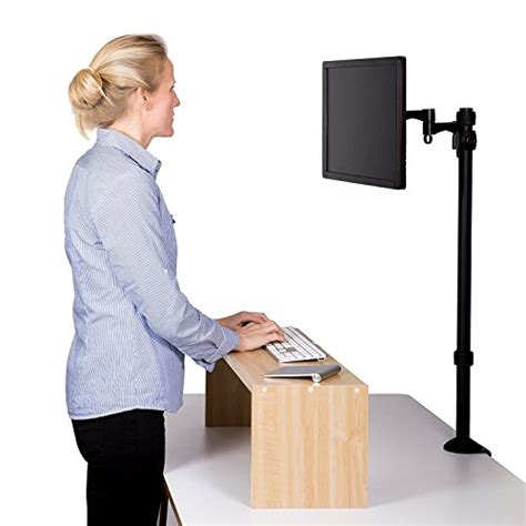 stand up at your desk ezy standing desk keyboard riser stand sit stand desk