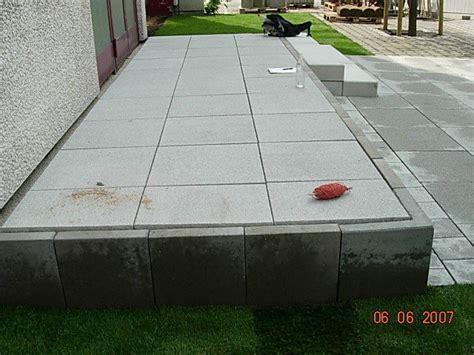 terrasse l steine anvitar hochbeet beton l steine gt interessante