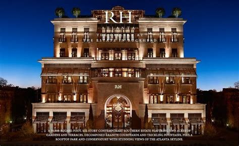 home goods retailer restoration hardware plans largest u s