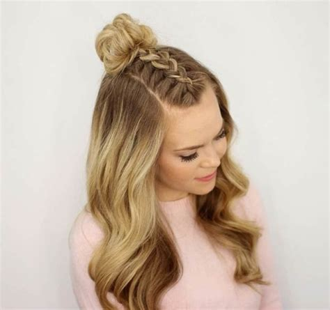 hairstyles for long straight hair tied up 45 gorgeous half up half down hairstyles her canvas