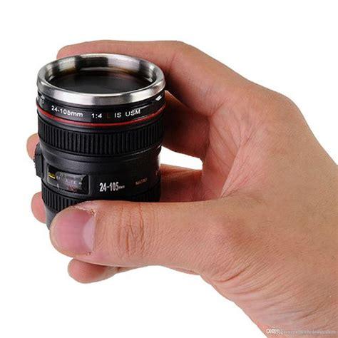 Gelas Minum Bentuk Lensa Kamera produk cangkir bentuk lensa kamera teknologi www inilah