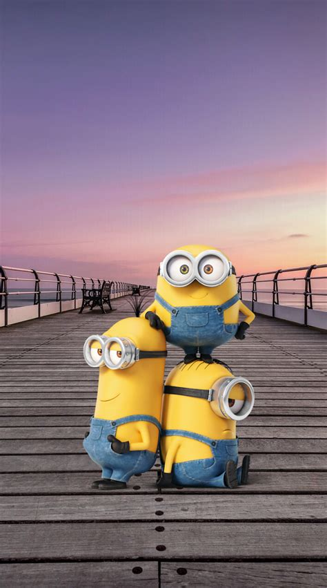 imagenes 4k minions обои iphone wallpaper minions 最近保存したピン pinterest
