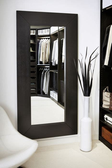 ikea mirror mongstad mirror black brown walk in closet and love this