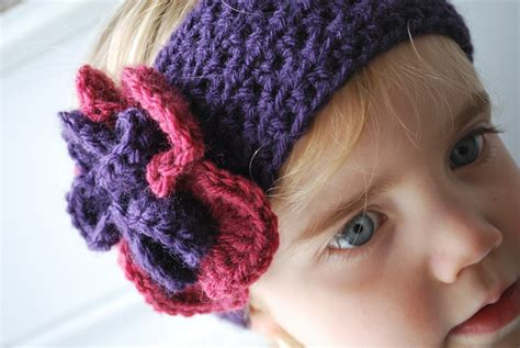 crochet pattern for headbands with flowers crochet baby headbands patterns flower