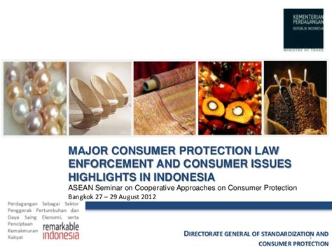 australian consumer law section 54 major consumer protection law in indonesia 2012
