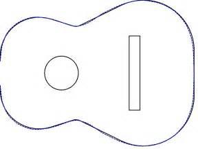 acoustic guitar template ska wood choice autocad guitar templates