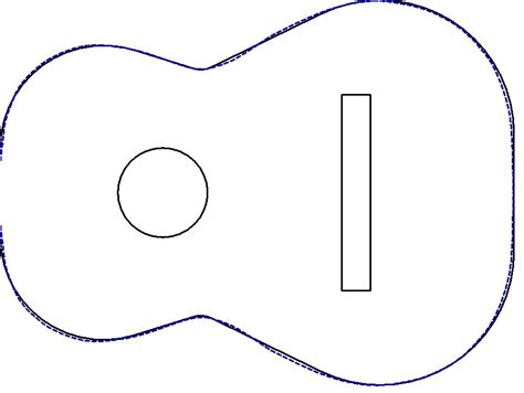 best photos of acoustic guitar outline guitar drawings