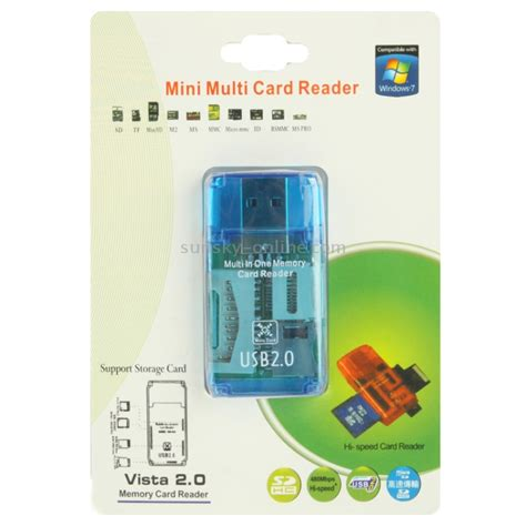 All In One Memory Card Reader Cr 9165 Orange 2010 sunsky all in 1 memory card reader support sd tf m2 ms mmc ms pro card and