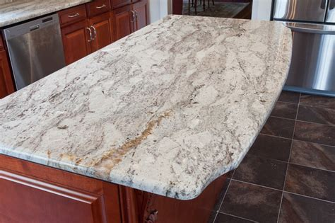 taupe white granite modern kitchen countertops dc