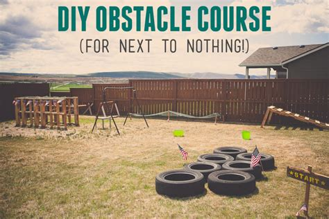 How To Build A Backyard Water Park Boy S Army Birthday Party Diy Army Obstacle Course For