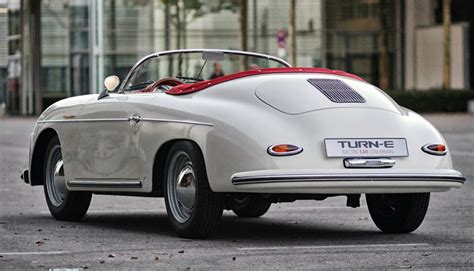 Porsche 550 Speedster by Porsche 356 Speedster 550 Spyder Als Elektroauto Replika