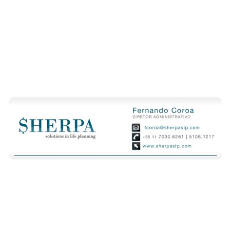 layout assinatura email assinatura de e mail para planejamento financeiro pessoa