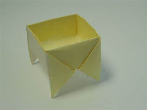 Large Origami Box - footed origami box 简体中文