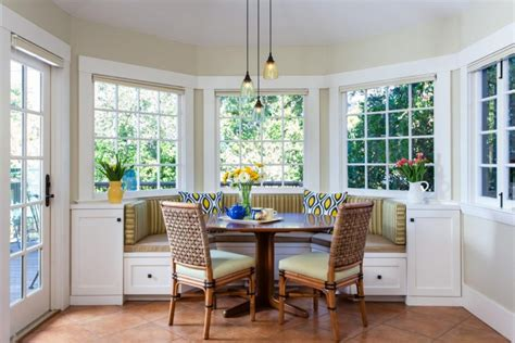 bay window breakfast nook furniture the application of kitchen bay window ideas