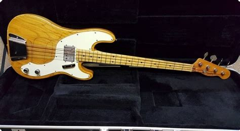 fender telecaster bass 1973 natural bass for sale jimi s