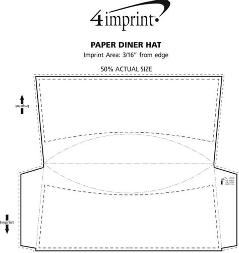 pope hat template paper diner hat item no 113175 w from only 35c ready to