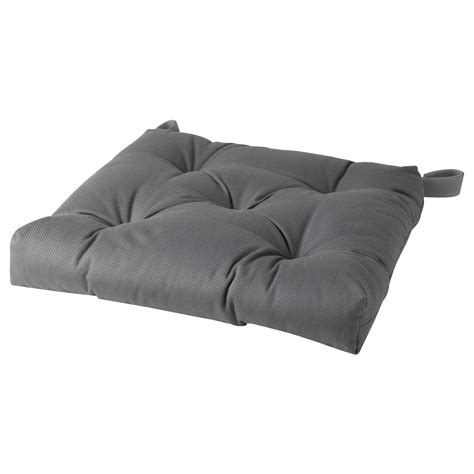 bench pad ikea malinda chair cushion grey 40 35x38x7 cm ikea