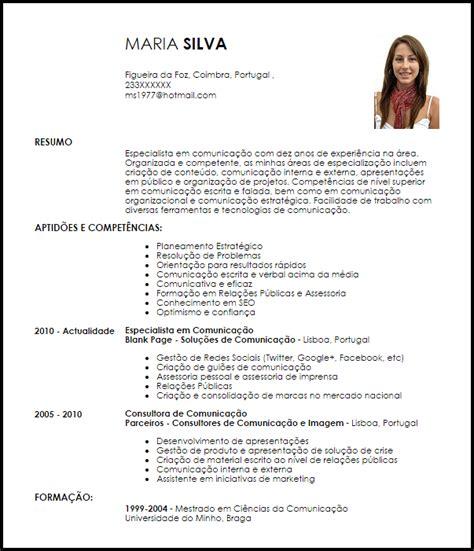 Modelo De Curriculo Por Competencias Modelo Curriculum Vitae Especialista Em Comunica 231 227 O Livecareer