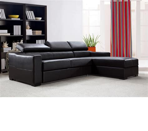 sectional sofa bed with storage dreamfurniture com flip reversible leather sectional sofa bed with