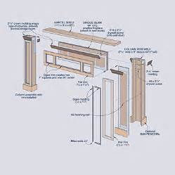 wood work diy fireplace mantel surround plans pdf plans