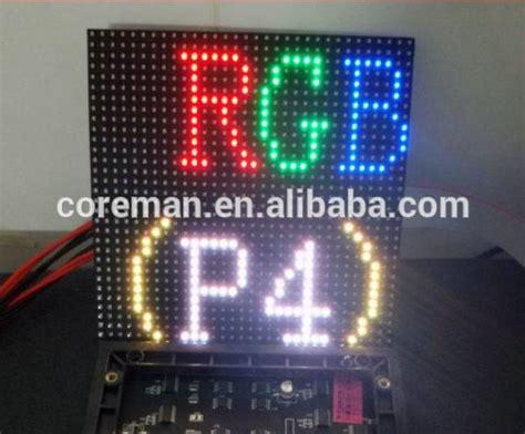 Modul Led P10 16x32 Indoor 16x32 rgb led matrix panel coreman smd outdoor p10 led