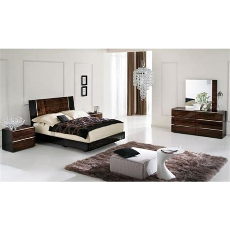 lacquer bedroom furniture venere italian lacquer modern bedroom set