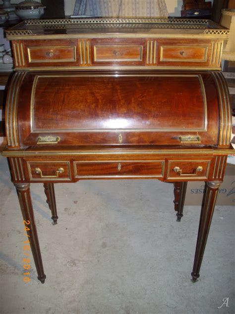 bureau a cylindre bureau cylindre en acajou de style louis xvi artisans du