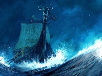 viking longboat on fire ships a wiki of ice and fire