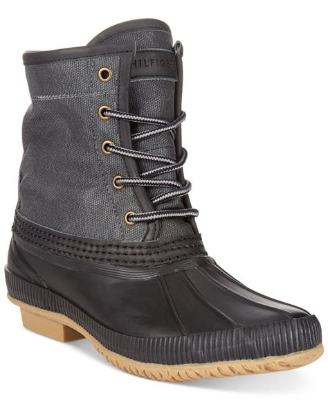 macy s duck boots hilfiger s collins waterproof duck boots only